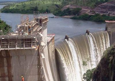 Central hidroeléctrica de Cabambe, Angola