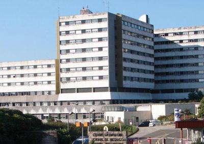 Hospital universitario de Besançon, Francia