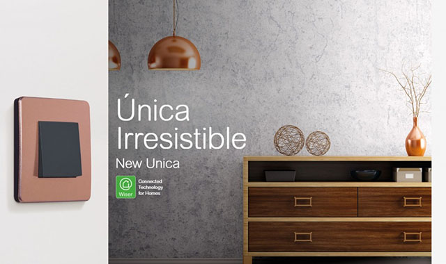 New Unica Irressistible - Connected technology for homes