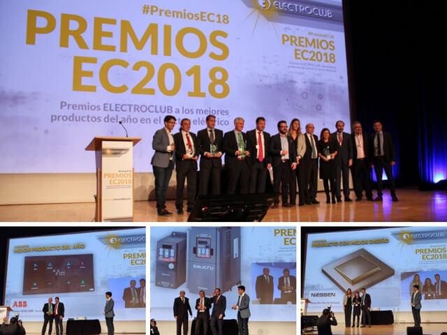 Premios Electroclub - productos ganadores