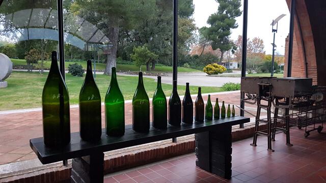 AEMSA EN FÁBRICAS DE ENVOLVENTES UNIVERSALES DE SCHNEIDER ELECTRIC - visita Codorniu. Botellas