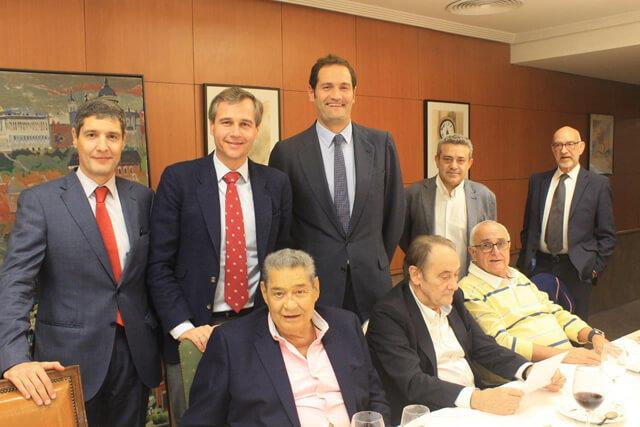 Mesa principal cocido de proveedores Almacenes Eléctricos Madrileños 2018