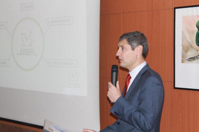 Presentación del director general, Ramón Utgés Blesa, en el cocido de proveedores de AEMSA 2018