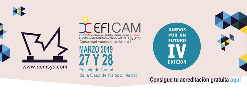Consigue tu acreditación para EFICAM 2019