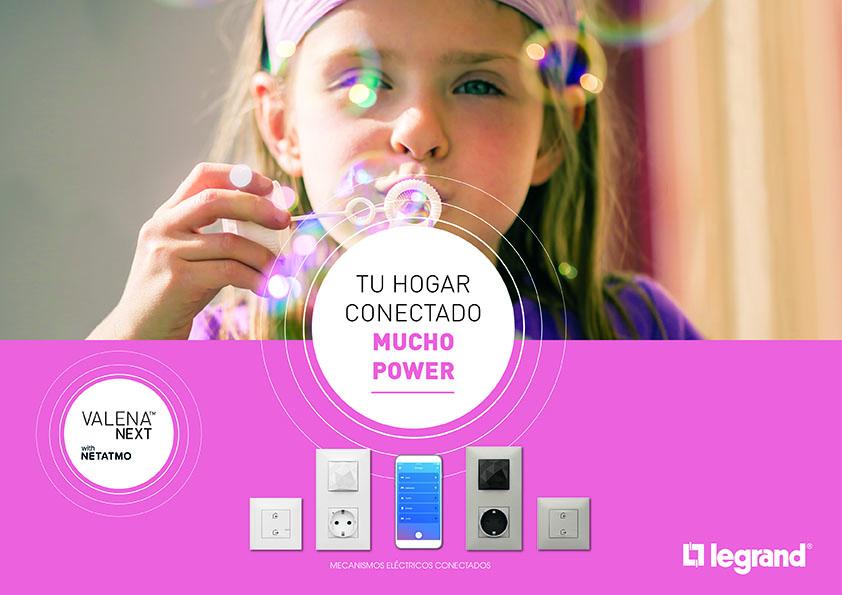 Valena Next(TM) con Netnamo, tu hogar conectado con mucho power