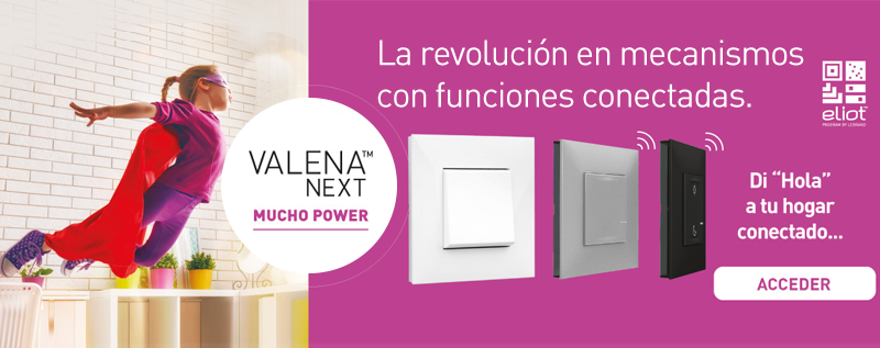 Descubre Valena Next with Netatmo de Legrand