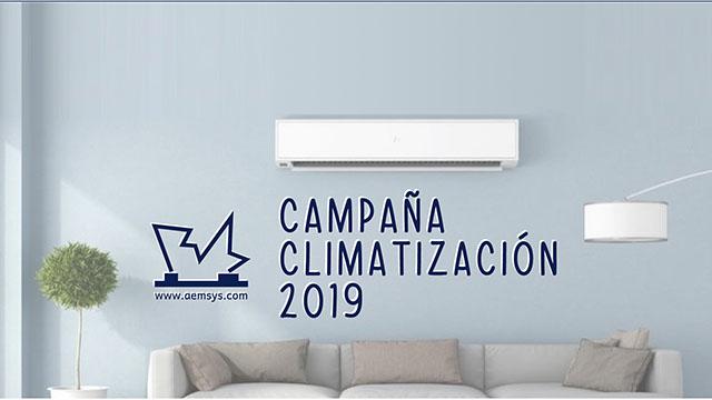 CAMPAÑA CLIMATIZACIÓN 2019