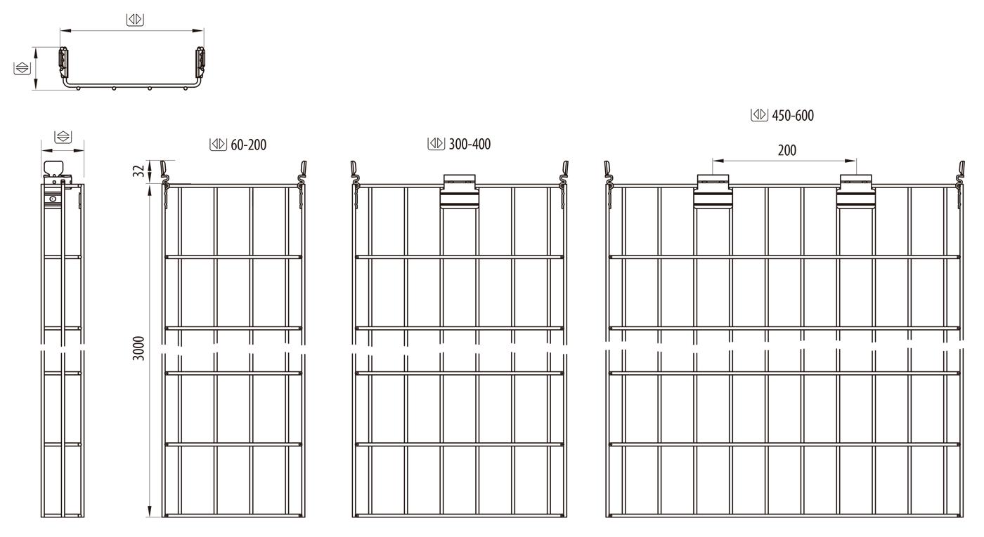 Formatos y tamaños de Rejiband Rapide