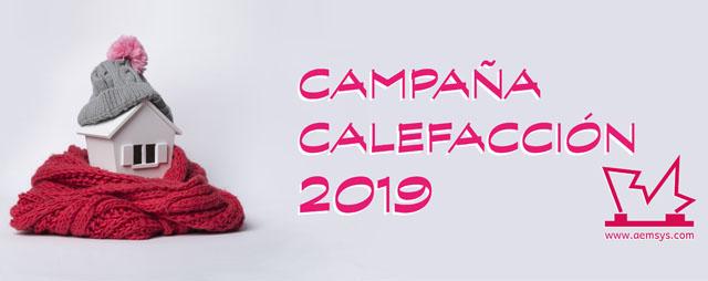 Campaña calefacción otoño invierno 2019 - 2020