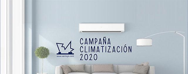 Campaña de climatización AEMSA 2020
