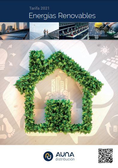 Catálogo AUNA renovables 2021