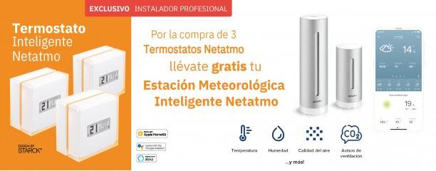 Promoci´çon Legrand estación meteorológiva Netnamo