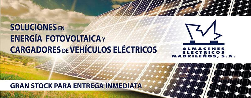 Material instalaciones fotovoltaica